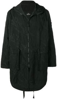 Stone Island Shadow Project hooded raincoat