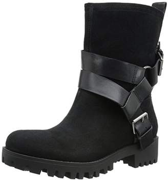 Nine West Women's Outnup Suede Ankle Bootie