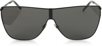 Saint Laurent SL1 MASK Metal Frame Men's Sunglasses