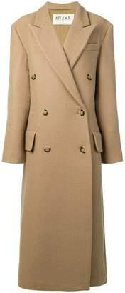 Awake double breasted coat