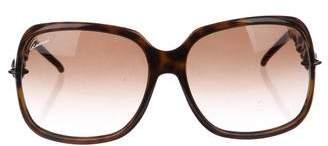 Gucci Gradient Square Sunglasses