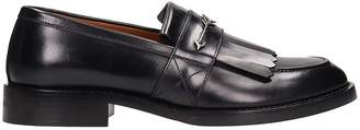 Givenchy Black Shiny Leather Cruz Loafers