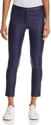 Theory Classic Skinny Leather Pants