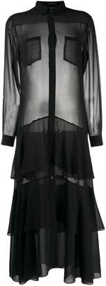 Barbara Bui sheer shirt dress