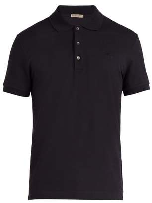 Bottega Veneta Cotton Polo Shirt - Mens - Dark Navy