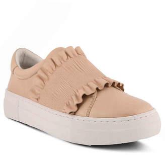 Azura Cinch Ruffle Platform Slip-On Sneaker - Women's