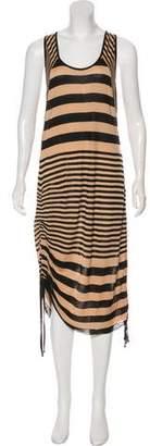 A.L.C. Striped Midi Dress