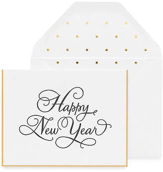 One Kings Lane Set of 6 Happy New Year Greeting Cards