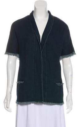 Simon Miller Frayed Denim Jacket
