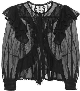 8386d56fc69 Etoile Isabel Marant Isabel Marant, étoile Alia embroidered cotton blouse