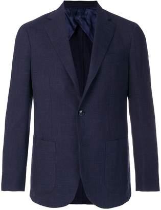 Barba classic single-breasted blazer
