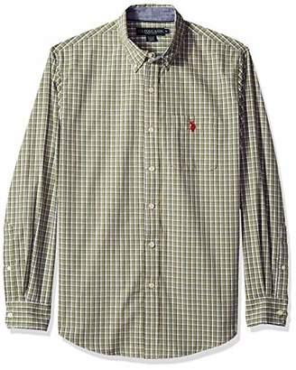U.S. Polo Assn. Men's Button Down Long Sleeve Sport Shirt