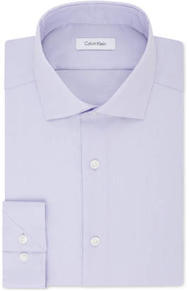 Calvin Klein Men Steel Slim-Fit Non-Iron Stretch Performance Dress Shirt