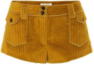 Saint Laurent Corduroy shorts