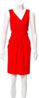 Michael Kors Gathered Knee-Length Dress
