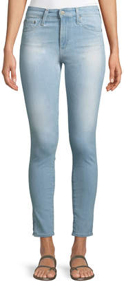 AG Jeans Farrah High-Rise Ankle Skinny Jeans