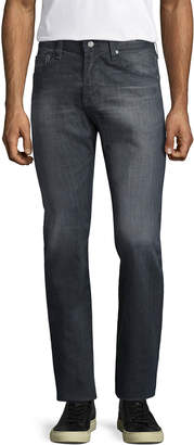 AG Adriano Goldschmied Adriano Goldschmeid Matchbox Distressed Straight Leg Jeans