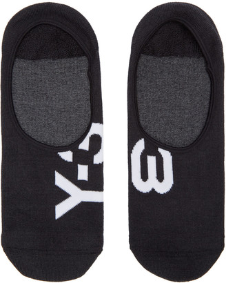 Y-3 Black Invisible Socks $30 thestylecure.com