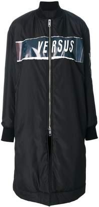 Versus zipped coat
