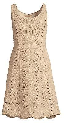Kobi Halperin Women's Sasha Cotton Crochet Dress