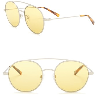 Raen Scripps 55mm Rounded Aviator Sunglasses