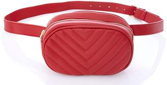 Quiz Red Belt Bag
