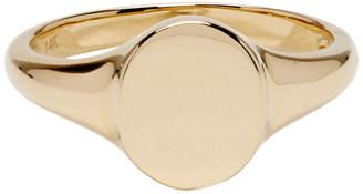 Gabriela Artigas And Company Gabriela Artigas and Company Gold Disc Signet Ring