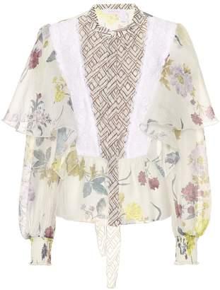 See by Chloe Floral-printed blouse