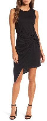 Women's Trouve Twist Front Dress $69 thestylecure.com