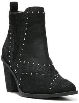 Fergie Dina Studded Suede Ankle Boots