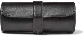 Wolf Blake Full-Grain Leather Watch Roll - Men - Black