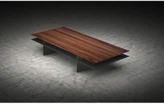 Modloft Black Kensington Coffee Table with Tray Top Black
