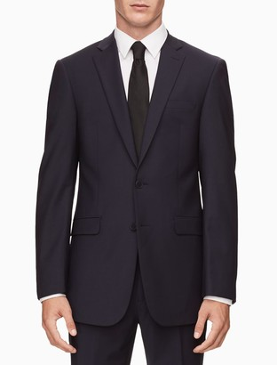 Calvin Klein x fit ultra slim fit navy suit jacket