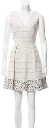 Proenza Schouler Tweed Mini Dress