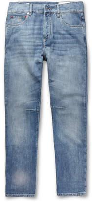Brunello Cucinelli Faded Denim Jeans - Men - Blue