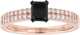 Black Diamond Affinity Diamond Jewelry Affinity 3/4 cttw Engagement Ring, 14K