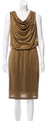 Lafayette 148 Silk Sleeveless Dress