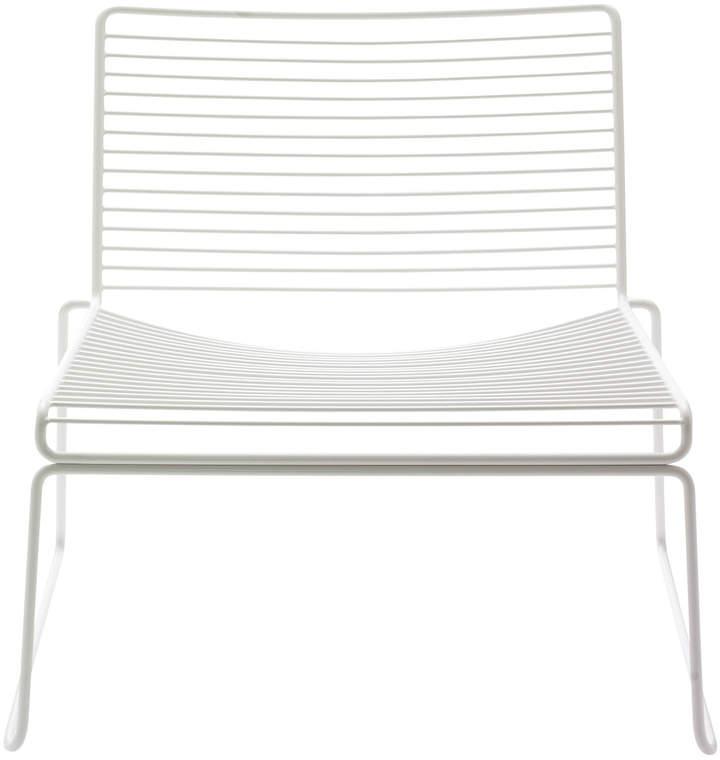 Hay - Hee Lounge Chair, Weiß