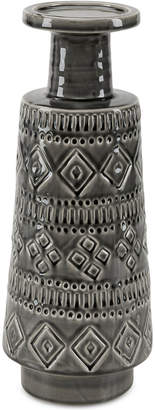 Madison Park Davos Ceramic Candle Holder
