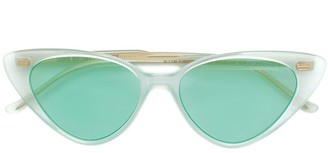 Cutler & Gross cat-eye shaped sunglasses