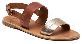 Frye Metallic Ally 2 Band Sling Sandal