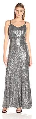 Jenny Yoo Women's Jules Sequin Blouson Gown