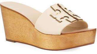 Tory Burch Ines 80mm Wedge Slide Sandals