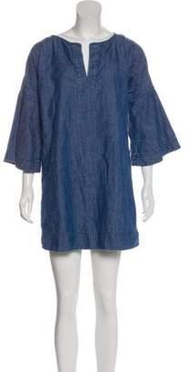 Apiece Apart Denim Mini Dress
