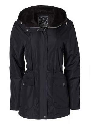 Big Chill Women's Hooded Anorak W/Sheared Pile Lining
