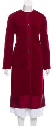 Lanvin Lightweight Wool Coat