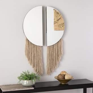 Southern Enterprises Suwu 2pc Decorative Mirror Set, Mirror