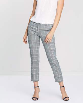 Reiss Check Skinny Trousers