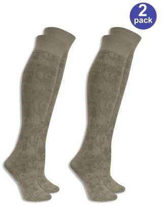 Dr. Scholl's Women's Fashion Fit Trouser Socks 2 Pack