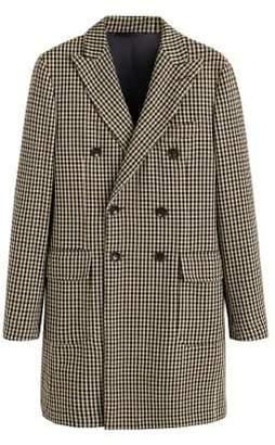Mango Man MANGO MAN Tweed wool coat